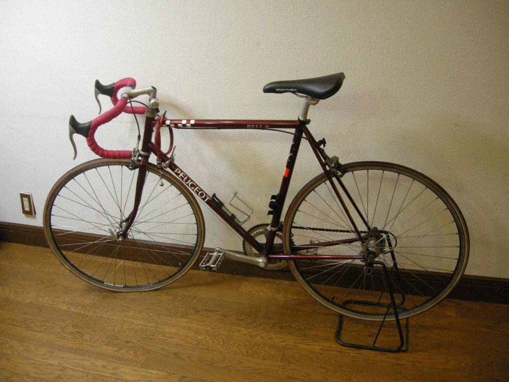 ... バイク イタリア製自転車