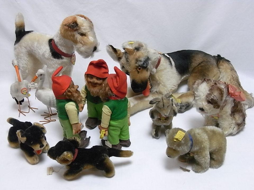 steiff(シュタイフ)等のぬいぐるみ、初代リカちゃん等の人形、高価買取
