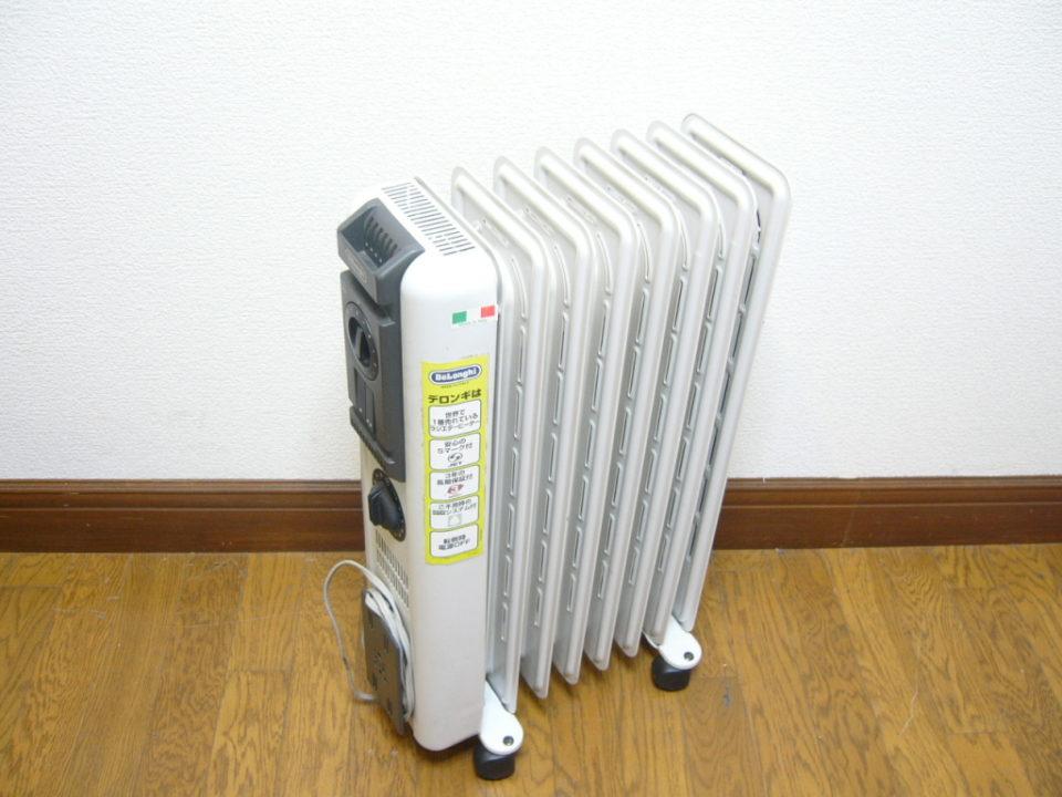 デロンギオイルヒーター等の暖房器具を高価買取中! 売り時は今!